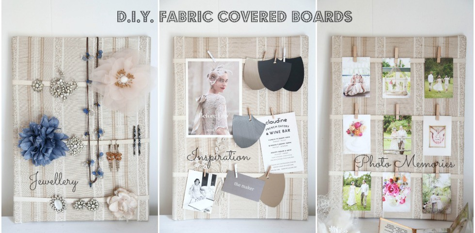 IATB DIY Fabric Covered Boards Banner