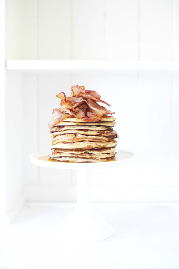 Maple Bacon Pancakes LR1