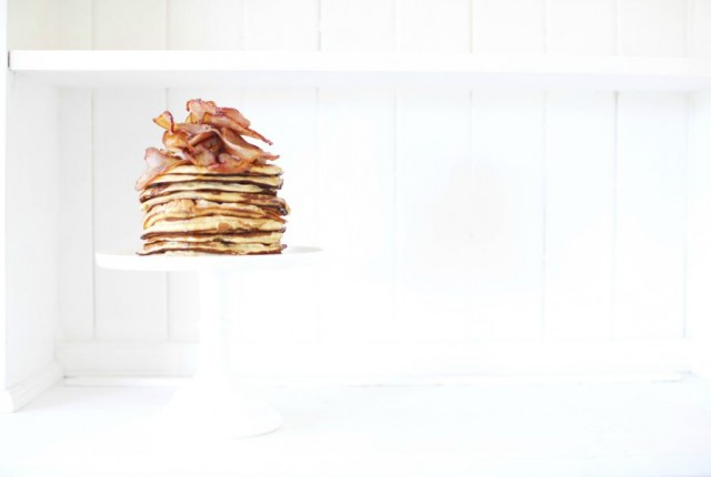 Maple Bacon Pancakes LR2