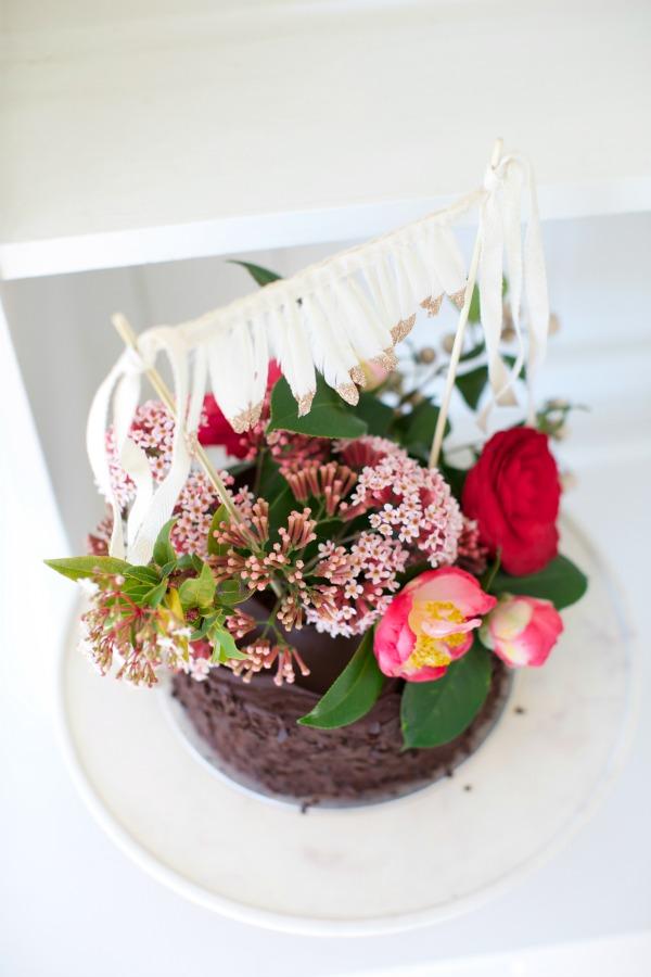 DIY Cake Flowers LR18